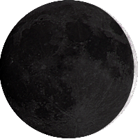 Moon age 1