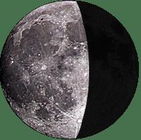 Moon age 19
