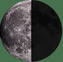 Moon age 21