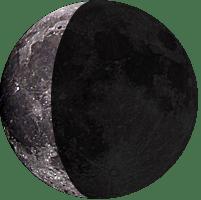 Moon age 25